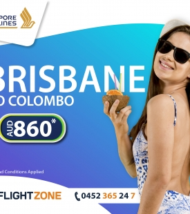 Brisbane to Sri Lanka