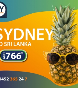 SYDNEY TO SRI LANKA